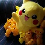 Add pokemon balloons or soft toy