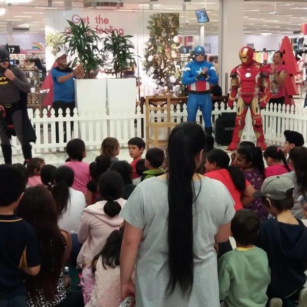 Ironman Batman Captain America hunters-plaza-kids-club