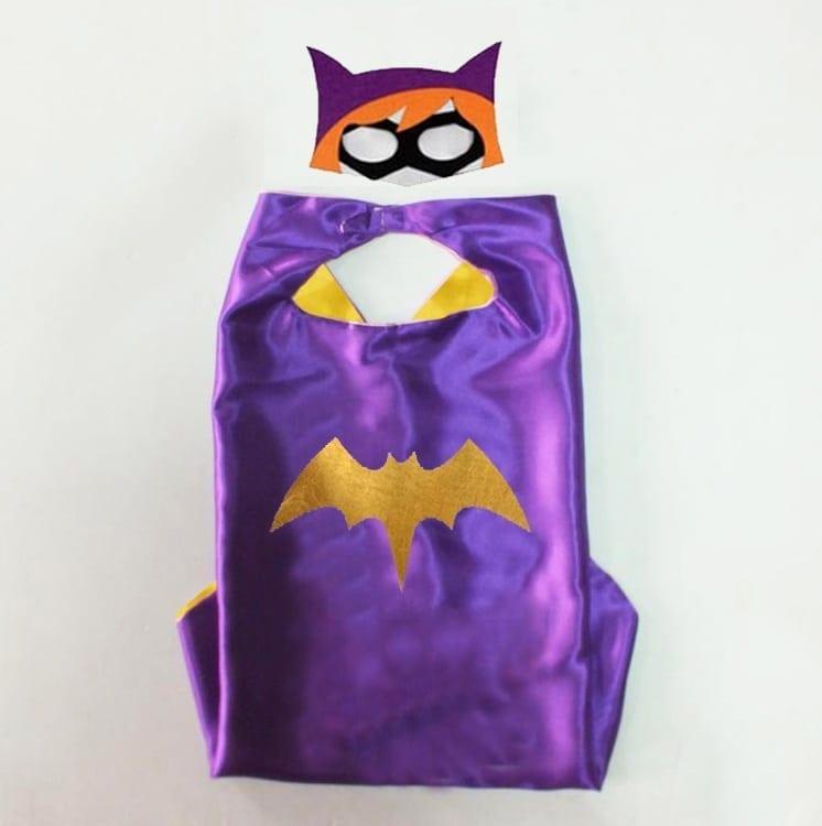 cape – Batgirl purple set.