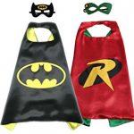 Add Batman, Batgirl or Robin cape set