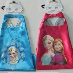 Add elsa or anna frozen cape set