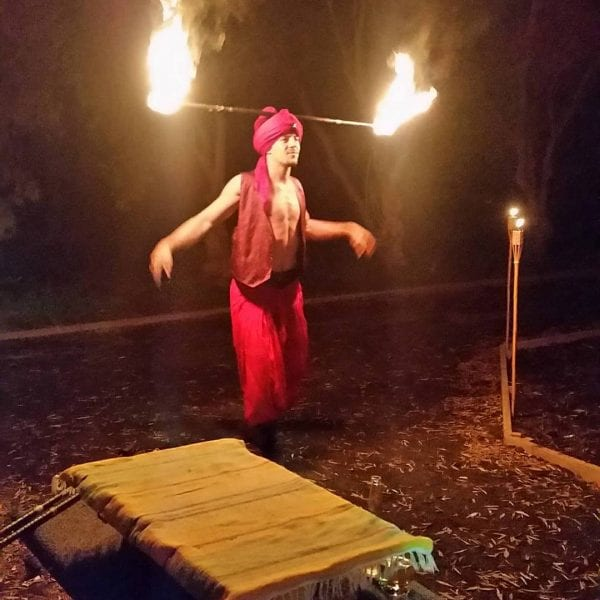 Fire Arabian Nights