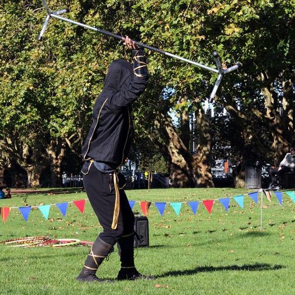Ninja Warrior staff act