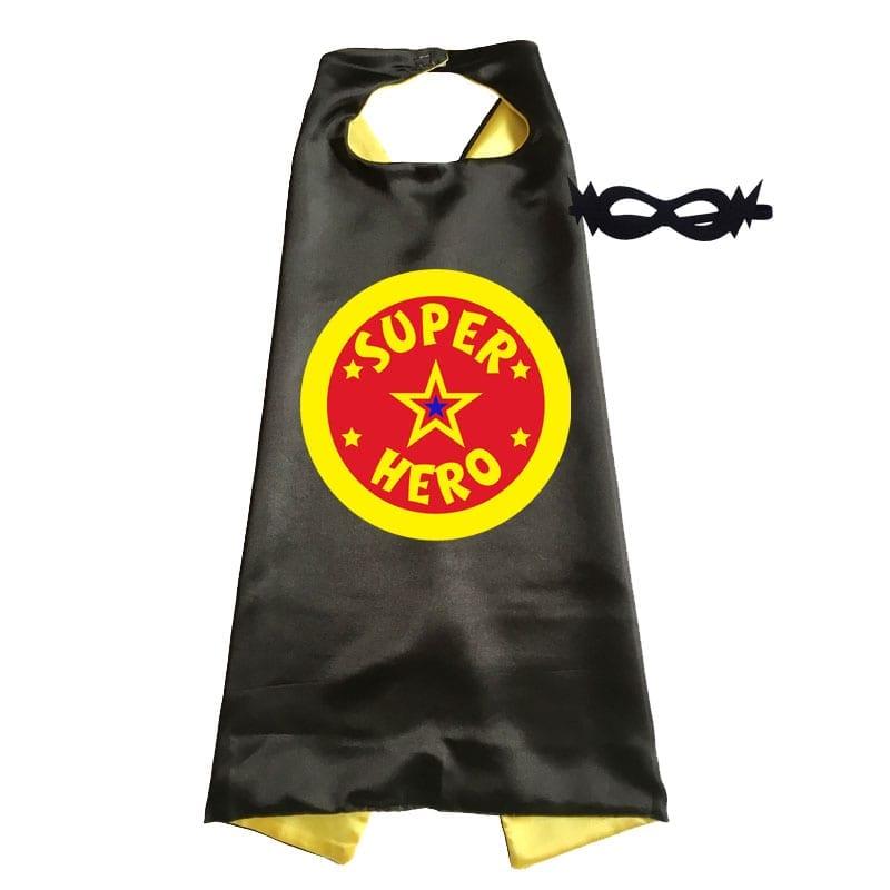 cape – superhero black
