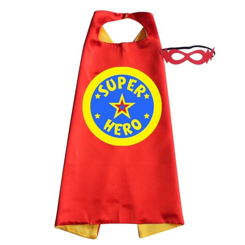 cape – superhero red