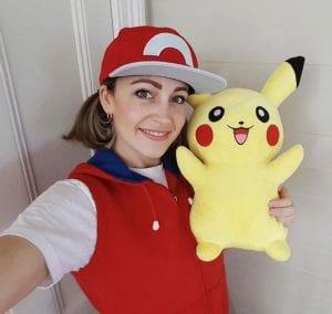 Pokemon trainer parties - female