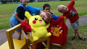 Pokemon trainer parties for kids