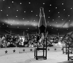 Superwoman circus