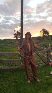 Fire at hobbiton