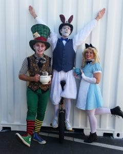 Alice in wonderland Christmas party
